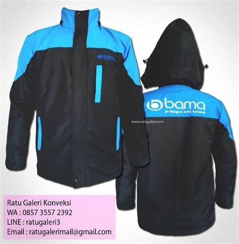 hasil produksi  desain jaket taslan pt bangun arta