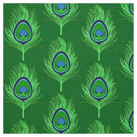 peacock feather upholstery fabric peacock fabric for upholstery quilting crafts zazzle