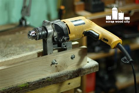 Scrap Wood City How To Convert A Drill Press Stand Into A