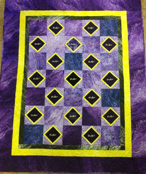 quilt pattern using crown royal bags 342 best images about crown royal bags on pinterest
