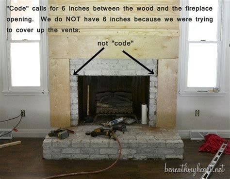 build a gas fireplace surround plans free