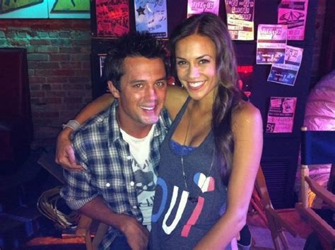 Stephen Colletti & Jana Kramer behind the scenes | Boys ... James Lafferty And Wife