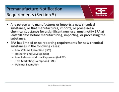 section 16 reporting requirements enhancing chemical management within the framework of