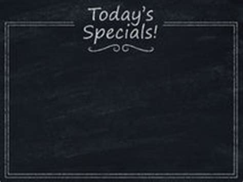 today s menu of today s specials stock photo image 22534900