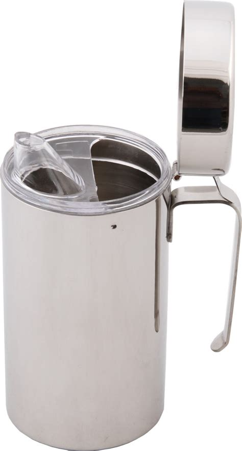 Rs Olive Jar With Handle 90 Ml bhalaria stainless steel can 500 ml cooking dispenser