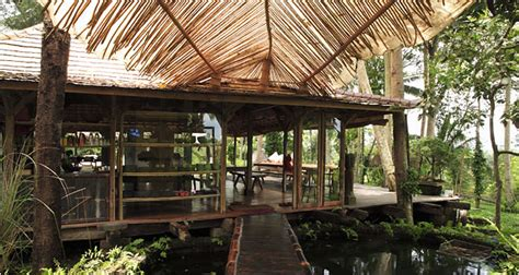 A House Among The Trees In Bali A Home Nestled Among Rice Paddies And Trees The