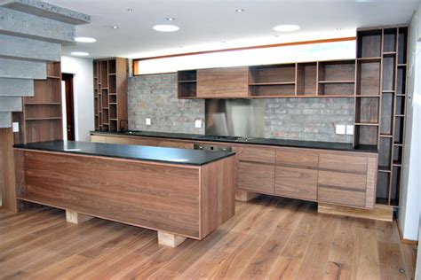 black walnut cabinets kitchen contemporary with family natural walnut kitchen contemporary kitchen by