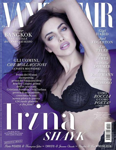Vanity Fair Italia by Irina Shayk Vanity Fair Italy Magazine March 2016