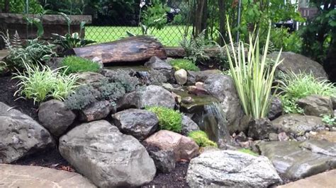 Patio And Landscaping Waterfalls Water Feature Landscape Ideas Paver Patio In