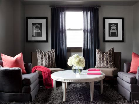 gray living room our favorite color infused living rooms living room and