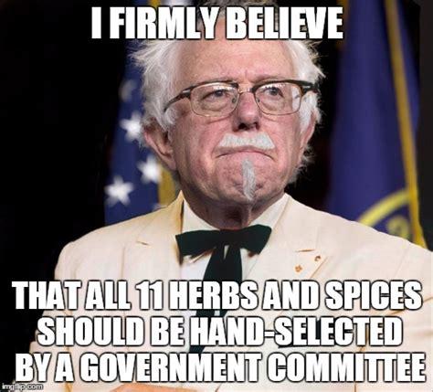 Bernie Sanders Memes - colonel bernie sanders imgflip