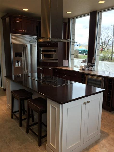 kitchen and bath store team visits omega cabinetry in