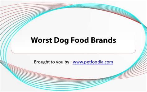 worst food brands worst food brands