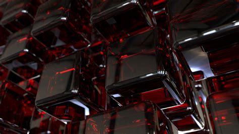wallpaper cubes cgi dark hd  abstract