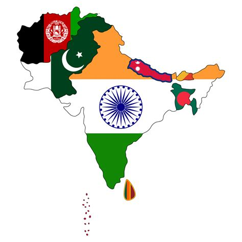 south asian map do i to choose between being south asian american and