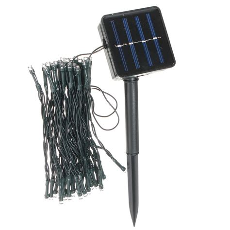 solar powered light string solar powered led string light rving and cing
