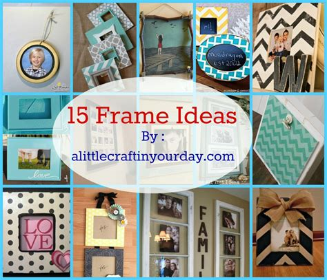 photo frame ideas 14 photo frame ideas a little craft in your day
