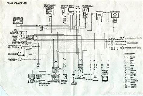 yamaha dt50 wiring diagram wiring diagram with description