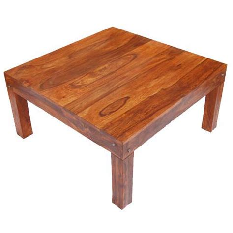 Rustic Square Coffee Table Solid Wood Traditional Rustic Square Coffee Table