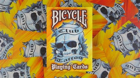 tattoo goo review youtube bicycle club tattoo playing cards deck review display
