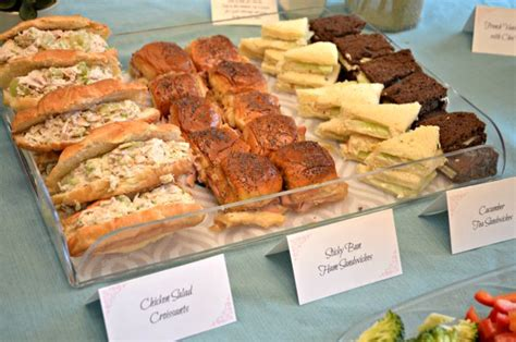 What To Serve At A Baby Shower by Interesting What Food Do You Serve At A Baby Shower 86 On