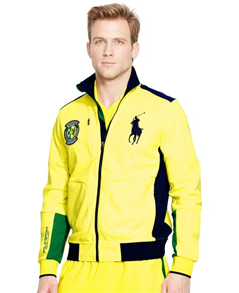 Vest Zipper Polos Plain Zemba Clothing polo ralph polo sport brasil zip track jacket in yellow for lyst
