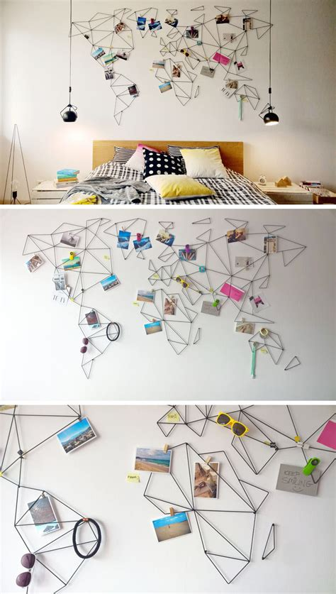 map your travels 10 world map designs to decorate a plain wall contemporist