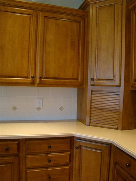 Stain Kitchen Cabinets Before And After anyone use general finishes antique walnut gel stain