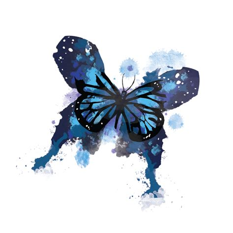 watercolor butterfly habitatt supply co