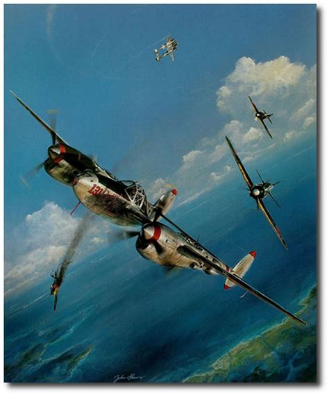 p 38 lightning aces of the pacific and pacific summer by john shaw p 38 lightning