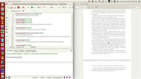 latex tutorial report latex programming 053 making your own thesis report