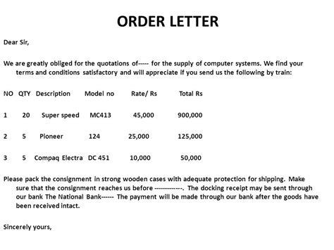 Purchase Order Letter Of Credit order letter purchase order letter purchase order 11 jpg