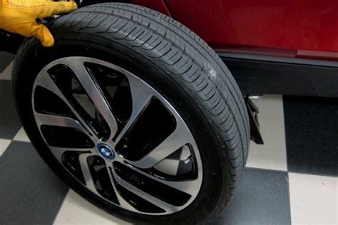 bmw i3 tyres flat tire on bmw i3 tpms comes to rescue