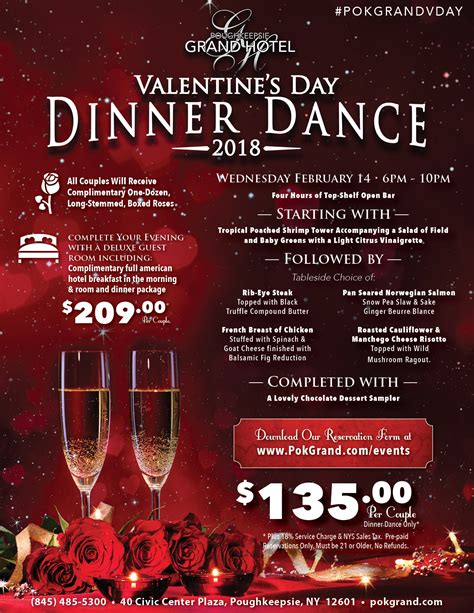Dining Room Bar by Valentine S Day Dinner Dance The Poughkeepsie Grand Hotel