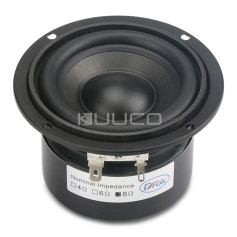 Speaker Subwoofer 3 Inch hi fi stereo loudspeaker 4 5 inch 8 ohms shocking bass