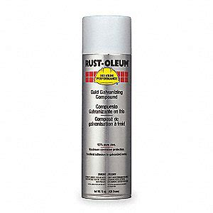 spray painting galvanized pipe rust oleum cold galvanizing compound 20 oz 5w180