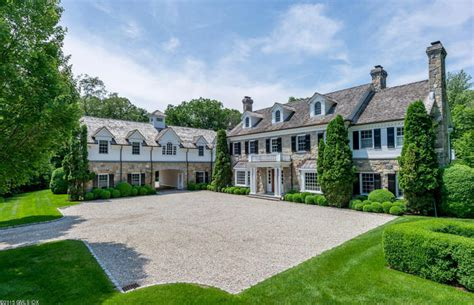 colonial mansion 7 8 million georgian colonial mansion in greenwich ct