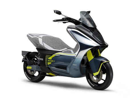 ec   ec  deux scooters electriques inedits pour yamaha