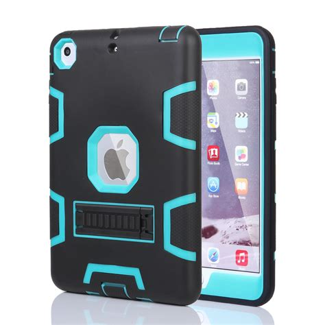 Hardcase Air 2 For Air 2 Mini Shockproof Heavy Duty Rubber With Stand Cover Ebay