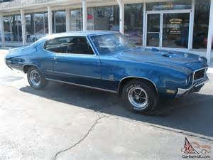 1970 Buick Gs 350 Specs 1970 Buick Gran Sport Blue Matching Numbers 350