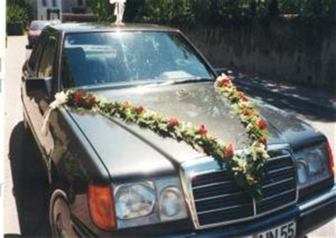 Hochzeitsschmuck Auto by Auto Hochzeitsschmuck
