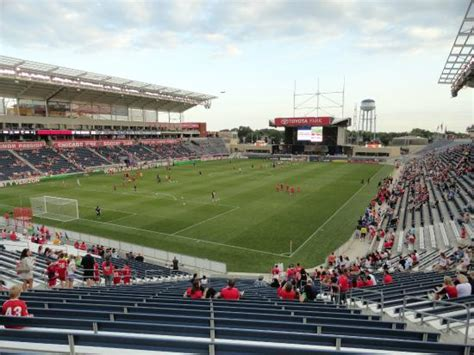 Hotels Near Toyota Stadium Toyota Park Chicago Soccer Club Picture Of Toyota
