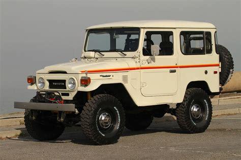 vintage toyota toyota land cruiser fj40 4x4 restored vintage truck