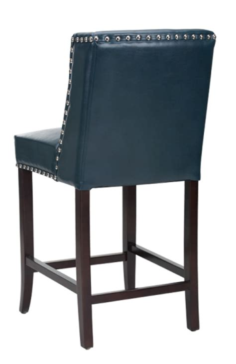 Blue Leather Counter Stools by Restaurant Chairs Stools Booths Wing Back Bar