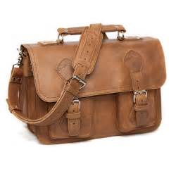 rugged leather briefcase bag for men quot the denver