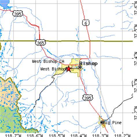 bishop california map west bishop california ca population data races