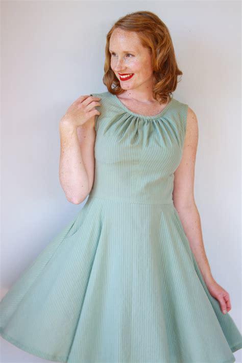 Ladies Simple Shift Dress Pattern