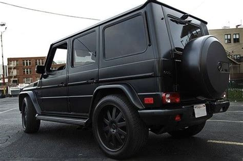 mercedes jeep matte black purchase used 2011 mercedes benz g class g55 amg suv matte