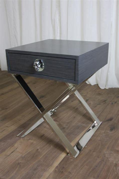 X Base Side Table with Www Roomservicestore Rocker Boca X Base Side Table In Gray