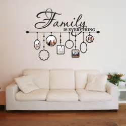 Vinyl Wall Mural Family Picture Frame Deco Vinyl Wall Art Free Shipping